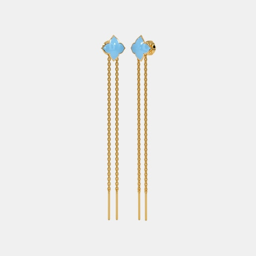 The Magicbeam Multi Pierced Dangler Earrings