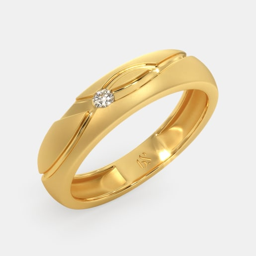 Couple Band Rings Buy 50 Couple Band Ring Designs Online In India