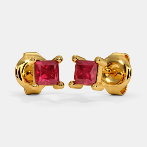The Kahli Multi Pierced Stud Earrings