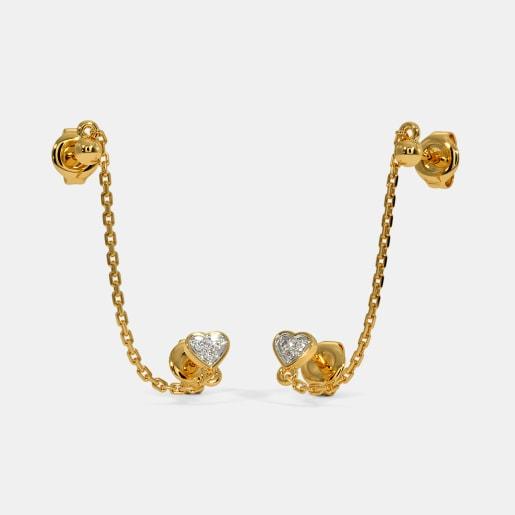 The Kehau Multi Pierced Stud Earrings