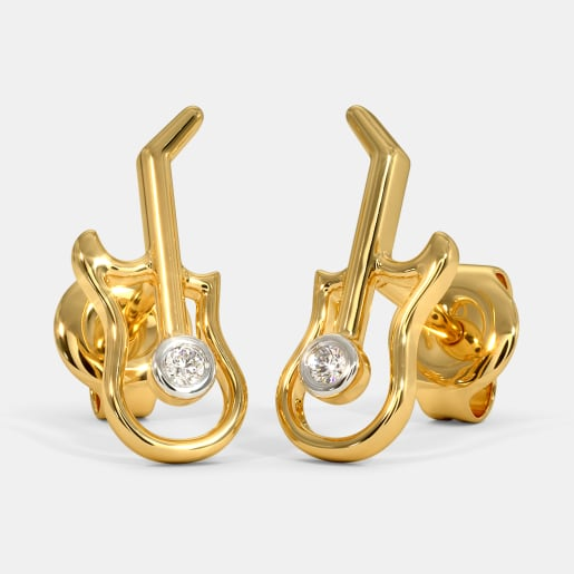 The Guitar Kids Stud Earrings