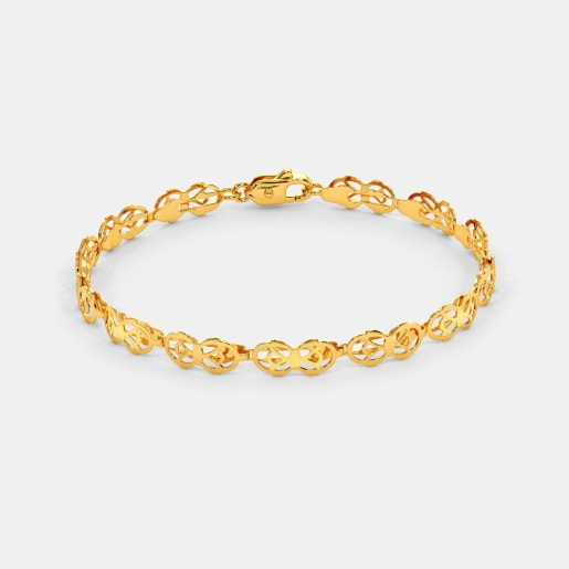 3a2eb398796ee Gold Bracelets - Buy 150+ Gold Bracelet Designs Online in India 2019 ...