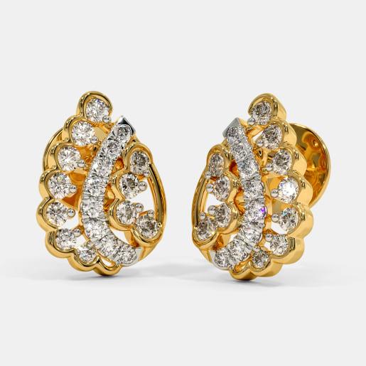 The Symbolic Folk Stud Earrings