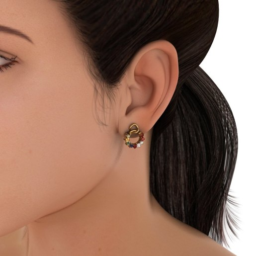 The Aaditya Nav Earrings