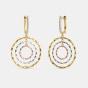 The Pierre Threetone Drop Earrings